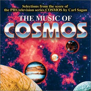 Original album cover of The Music of  Cosmos: Selections from the Score of the PBS Television Series Cosmos by Carl Sagan by Vangelis, Pachelbel, Bach