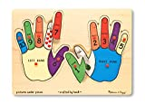 Hands Counting 12-piece Peg Puzzle