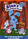 Blue's Clues - Blue's Big Musical Movie - movie DVD cover picture