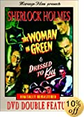 Sherlock Holmes - The Woman in Green / Dressed to Kill by Basil Rathbone