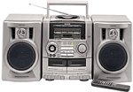 Aiwa CADW535 Carry Component System CD with Digital Tuner Boombox