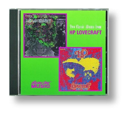 Two Classic Albums from HP Lovecraft: H.P. Lovecraft/ H.P. Lovecraft II