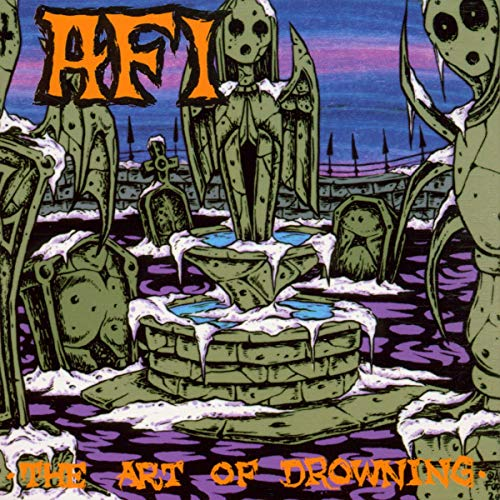 The Art of Drowning by AFI album cover