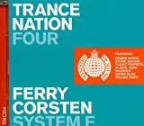 Pochette de l'album pour Ministry of Sound : Trance Nation 4