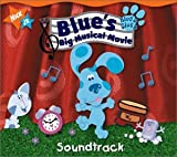 Blue's Clues-Big Musical Movie - Blue's Big Musical (Book and CD Edition)