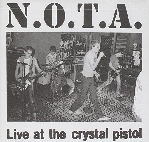 Original album cover of Live at the Crystal Pistol by None Of The Above