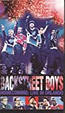 Backstreet Boys - Homecoming: Live in Orlando - movie DVD cover picture