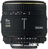 Sigma 50mm F2.8 EX Macro Lens for Canon-AF Camera