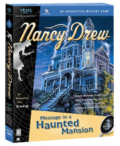 Nancy Drew:   Message in a Haunted Mansion by Her Interactive (CD-ROM)