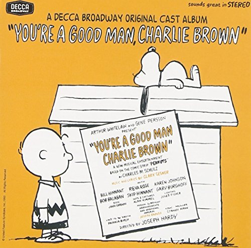 Youre a Good Man, Charlie Brown cover