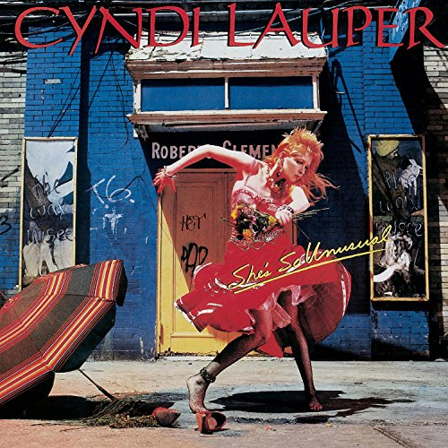 CD-Cover: Cyndi Lauper - She&#039;s So Unusual