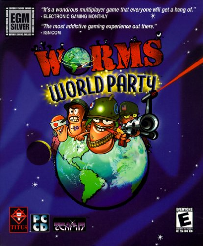لعبة worms world party