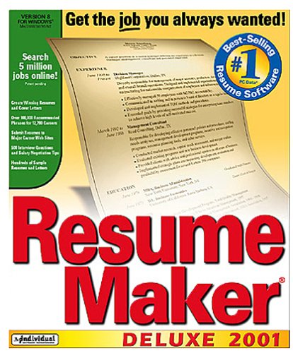 Comfortable Resume Maker Pro Deluxe V17 0 Retail Images - Example ...