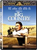 The Big Country - movie DVD cover picture