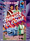 H.G. Wells - Things to Come - movie DVD cover picture