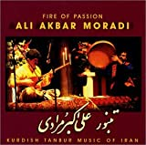 Capa do álbum Fire Of Passion (Kurdish Tanbur Music Of Iran)