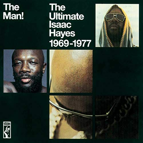 Skivomslag för The Ultimate Isaac Hayes 1969-1977