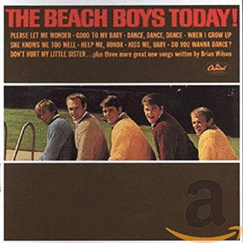 Today/ Summer Days (and Summer Nights) by The Beach Boys album cover