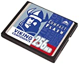 Viking CF256M 256MB Compact Flash Card for a MP3 Player, PDA or Digital Camera by Viking Components