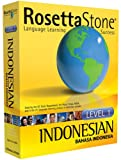 Rosetta Stone Indonesian (Language Software) Level 1