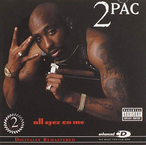 All Eyez on Me by 2Pac album cover