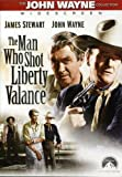 The Man Who Shot Liberty Valance - movie DVD cover picture