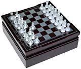 6 in 1 Wooden Game Chest