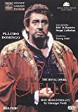 Verdi - Otello / Solti, Domingo, Te Kanawa, Royal Opera Covent Garden - movie DVD cover picture