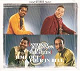Pochette de l'album pour Time out for Smokey Robinson and the MiraclesFour in Blue
