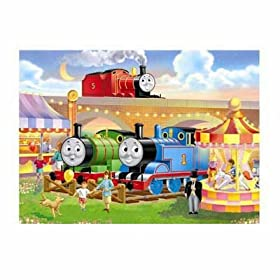 Thomas the Tank Goes to the Fair Jigsaw Puzzle 60pc