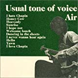 Album cover for Usual tone of voice
