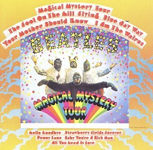 Original album cover of Magical Mystery Tour by Beatles