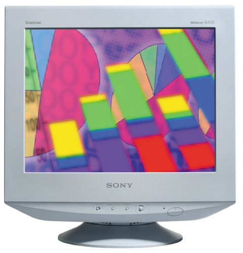 Global online store electronics brands sony computers sony cpd g420s 19 fd trinitron sciox Image collections