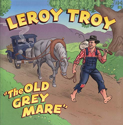 Original album cover of Old Grey Mare by Leroy Troy
