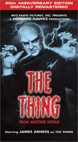 1982 movie 1951 world the thing from another world poster