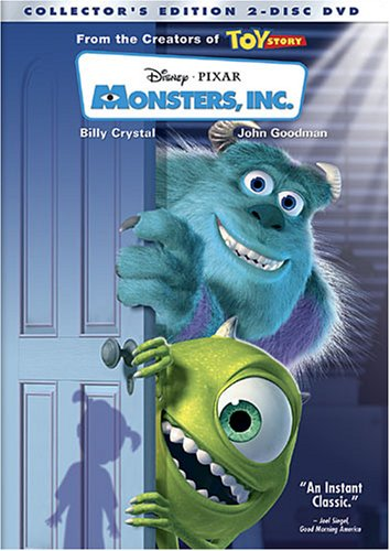 Monsters, Inc. (Collector's Edition) (2001) John Goodman, Billy Crystal