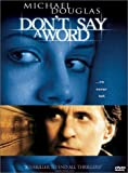 Buy Don't Say a Word DVD at Amazon.com