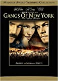 Gangs of New York - movie DVD cover picture