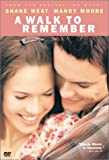 A Walk to Remember - movie DVD cover picture