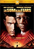 The Sum of All Fears - movie DVD cover picture