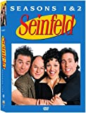 Seinfeld - Seasons 1 & 2 - movie DVD cover picture