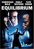 Equilibrium - movie DVD cover picture