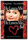 He Loves Me, He Loves Me Not - movie DVD cover picture