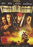 Pirates of the Caribbean - The Curse of the Black Pearl (2-Disc Collector's Edition) - movie DVD cover picture