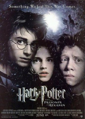Harry Potter and the Prisoner of Azkaban (US Movie Poster)
