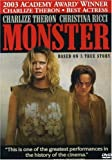Monster - movie DVD cover picture