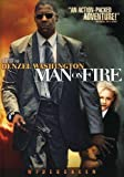 Man on Fire - movie DVD cover picture
