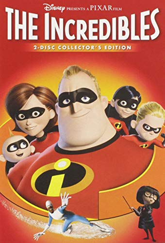 Incredibles, The / Суперсемейка (2004)
