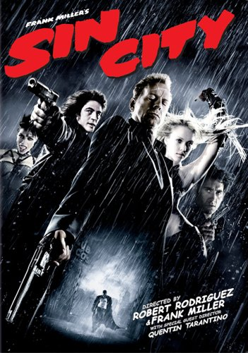 Sin City starring Bruce Willis, Clive Owen, Jessica Alba