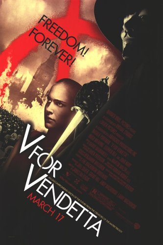 В - значит Вендетта \ V for Vendetta (2005) онлайн